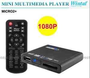 Wintal Micro2+ HD 1080P MINI MULTIMEDIA PLAYER Silverwater Auburn Area Preview