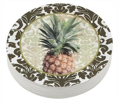 Mariposa Pineapple - Mariposa Pineapple Coaster Pack of 12 NEW!