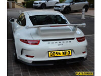 Car Reg for sale BO55 WHO