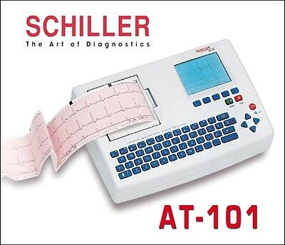 Schiller Cardiovit At-101 3 Channel 12 Lead Ecg System