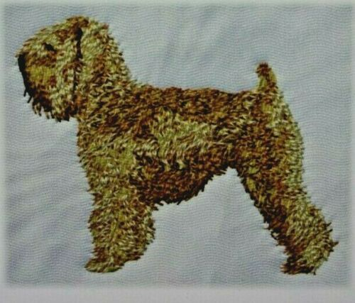 Wheaten Terrier Dog Breed Bathroom SET OF 2 HAND TOWELS EMBROIDERED Personalized