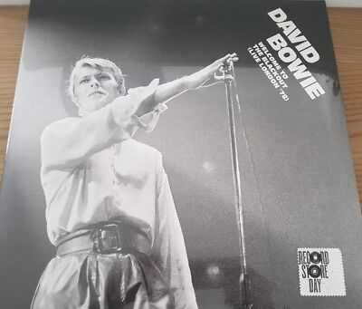 DAVID BOWIE WELCOME TO THE BLACKOUT LIVE IN LONDON '78 3 X LP 2018 RSD