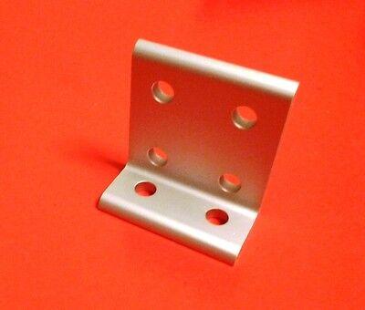 8020 Inc Equivalent Aluminum 6 Hole Inside Corner Bracket 10 Series Pn 4175 New