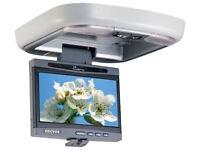 "Brand New In-dash DVD Player Head Unit & 7"" Drop Down Monitor BNIB"