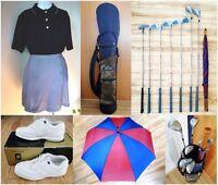 Sac de golf & bâtons/ femme droitière- souliers FootJoy Clothes