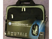"""Brand New HP Laptop Case & HP USB Optical Mouse for Laptops upto 16"""" BRAND NEW Case & Mouse OPTICAL"""