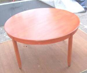 Large Round Timber Dining Table Inala Brisbane South West Preview