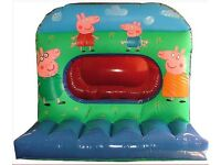 PEPPA PIG BOUNCY CASTLE & BALL PIT / SLUSH PUPPIES/ LED DANCE FLOORS/ CHOCOLATE FOUNTAINS & MORE...
