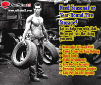 Need Seasonal Tire Storage?