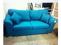 New amelia sofa bed in teal blue only £175