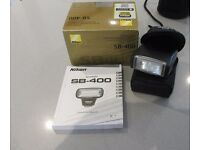 Nikon SB-400 flash speedlight