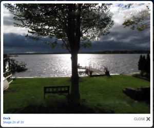 On the Lake House Rental Aug 25- Aug30  Special