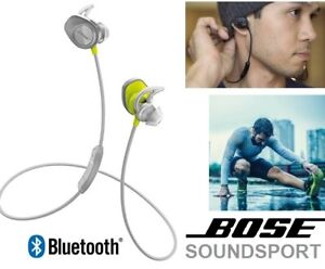 NEW BOSE SOUNDSPORT IN-EAR WIRELESS BLUETOOTH HEADPHONES - WHITE