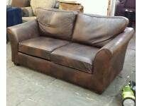 Marks and spencer abbey 2 seater leather sofa only £195