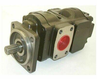 Genuine New Parkerjcb Twin Hydraulic Pump 20903300 33 29ccrev Made In Eu
