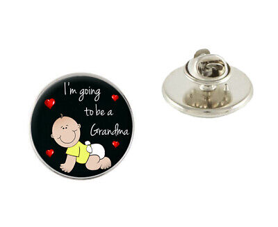 I'm Going To Be A Grandma 25mm Metal Pin Badge Tie Pin Brooch Ideal Gift N575](Grandma To Be Pin)