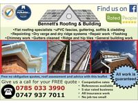 BENNETT'S ROOFING & BUILDING - QUALITY WORK - FREE QUOTES - SPECIAL DEALS - 15% OFF THROUGH GUMTREE