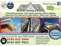 ROOFERS - BENNETT'S ROOFING & BUILDING - CHEAPEST IN THE AREA - QUALITY WORK - FREE QUOTES