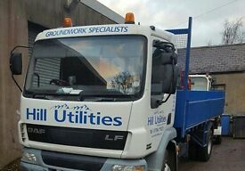 HILL UTILITIES ltd Digger/excavator and Lorry/tipper Hire