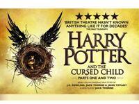 3 sets Harry Potter & the Cursed Child tix, Stalls, Row E - 25 October (half term) £400/set