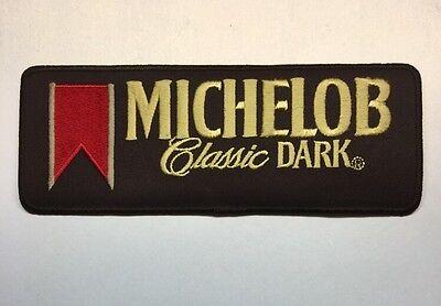 """Michelob Classic Dark Anheuser-Busch Logo Beer Patch Budweiser Bud Lrg 9"""" X 3.5"""""""