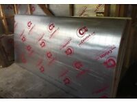 X3 CELOTEX INSULATION BOARD, (L)2400MM (W)1200MM (T) 50MM