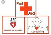 Emergency First Aid/CPR C/AED Certification