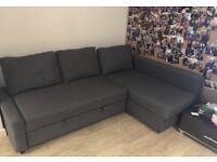 IKEA FRIHETEN GREY SOFA BED GREAT CONDITION CAN DELIVER