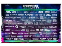 Creamfields 3 day ticket with camping ( 1 ticket )