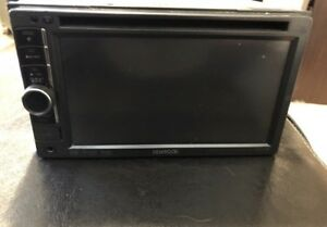 Kenwood double din car stereo deck