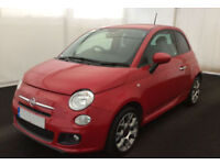 Fiat 500 S FROM £36 PER WEEK!