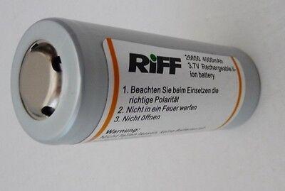 RIFF Ersatzakku für TL 3000 MK 3 und Cdl-1 Tauchlampe - NEU !!