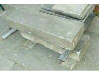 Concrete step x 2