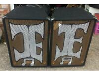 Speakers disco/or singer 500watts aside ��250.00