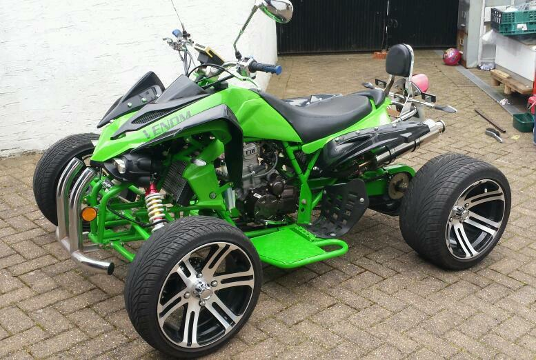 jinling venom 250cc quad bike in preston lancashire. Black Bedroom Furniture Sets. Home Design Ideas