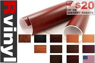 Rwraps Wood Grain Vinyl Wrap Sheet Film Roll For Wind Deflectors   More