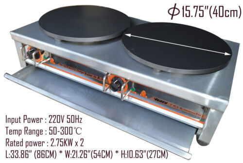 Kitchen Electric Crepe Machine Griddle Commercial Electric Plate Crepe Machine S