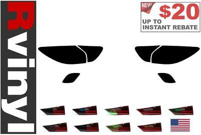 Rtint Tail Light Tint Precut Smoked Film Covers for Mazda CX-5 2016-2018