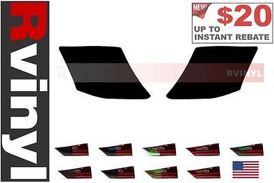 Rtint Tail Light Tint Precut Smoked Film Covers for Honda Accord 2011-2012 Coupe