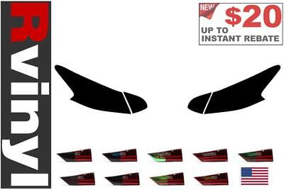 Rtint Tail Light Tint Precut Smoked Film Covers for Nissan Altima 2016-2018
