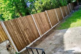 Fencing supply and fit