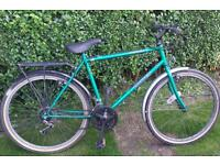 Mens bike ready to ride with extras cheap