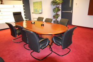 ****MEGA SALE! OFFICE FURNITURE+EQUIPMENT (DESKS,CHAIRS, SOFA++)