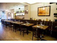 Experienced Waiter or Waitress in Italian Restaurant