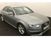Grey AUDI A4 SALOON 1.8 2.0 TDI Diesel SPORT S LINE FROM £72 PER WEEK!