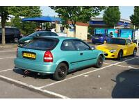 Honda civic 1.4s ej9 not ek9 vti type r dc2 st