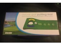 Brand new Deluxe Golf Putting Mat