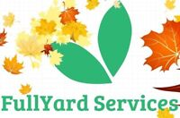 Full Yard Fall Clean Up - Removal of All Yard Materials