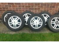 "Ford Focus zetec alloys wheels 15"""
