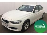 £240.10 PER MONTH 2012 BMW 320D 2.0 EFFICIENTDYNAMICS STEP 4 DOOR DIESEL AUT0